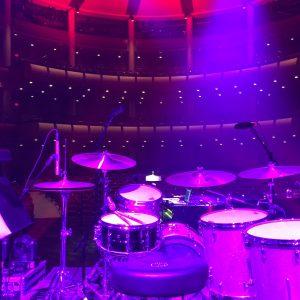Live Production Drum Kit Red Skelton Performing Arts Center Stage Lighting